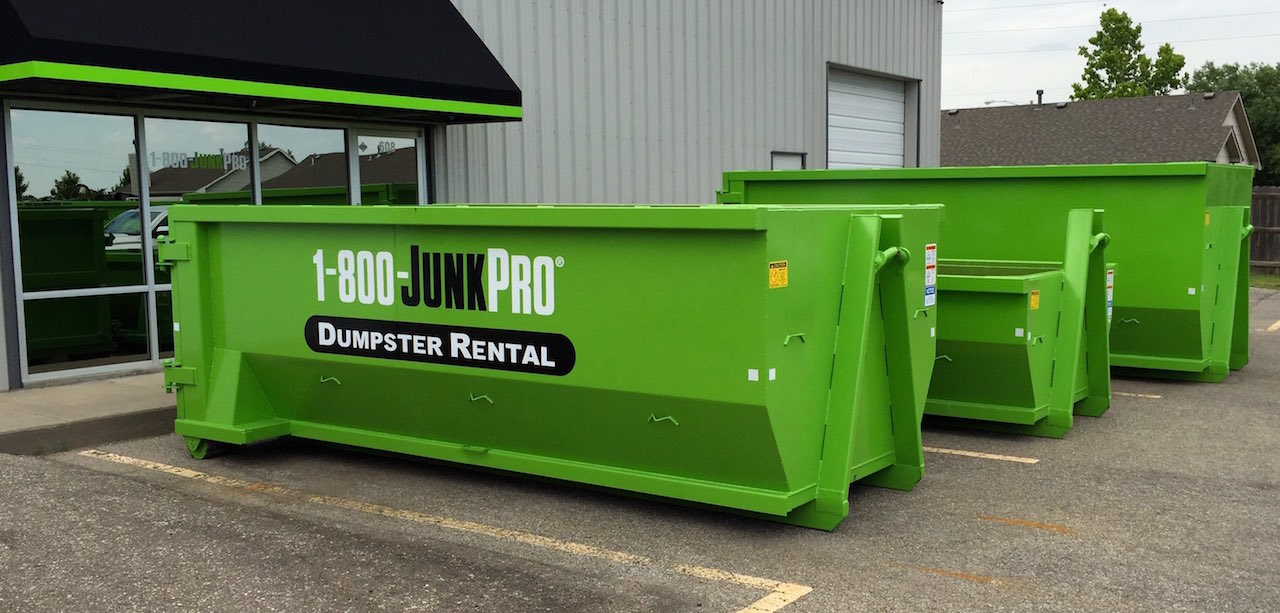 1 800 Junkpro Dumpster Rental For The Quot Do It Yourselfer Quot